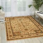 Crownover Wool Beige Area Rug Rug Size: Rectangle 3'6