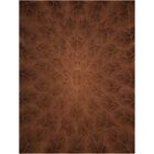 Downing Hand-Tufted Tobacco Area Rug Rug Size: Rectangle 8' x 11'