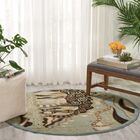 Hyde Green Area Rug Rug Size: Rectangle 5'3