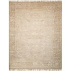 Haddou Hand-Knotted Gold Area Rug Rug Size: Rectangle 8'6