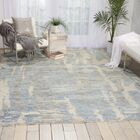 Aroon Hand-Knotted Blue Area Rug Rug Size: Rectangle 2'3
