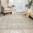 Aroon Hand-Knotted Stone Area Rug Rug Size: Rectangle 5'6