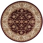 Antiquities Red Area Rug Rug Size: Rectangle 3'9