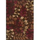 Brittni Hand-Tufted Red/Brown Area Rug Rug Size: Rectangle 5' x 7'6