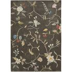Williston Hand-Tufted Tobacco Area Rug Rug Size: Rectangle 5' x 7'6
