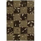 Kelsey Hand-Tufted Brown Area Rug Rug Size: Rectangle 3'6