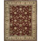 Ellerswick Hand Woven Wool Beige/Red Indoor Area Rug Rug Size: Rectangle 9'9