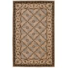 Brownlee Brown/Tan Wool Area Rug Rug Size: Rectangle 5'3