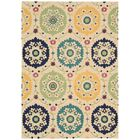 Aberdeenshire Hand-Tufted Ivory Area Rug Rug Size: Rectangle 2'6
