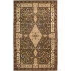 Brownlee Oriental Brown/Tan Area Rug Rug Size: Rectangle 8' x 11'