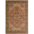Crownover Rust Area Rug Rug Size: Rectangle 3'6
