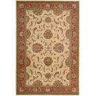 Crownover Ivory/Red Area Rug Rug Size: Rectangle 8'3