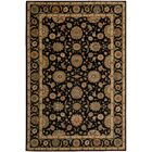 Crownover Black Area Rug Rug Size: Rectangle 5'6