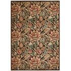 Burnham Brown Oriental Area Rug Rug Size: Rectangle 7'9