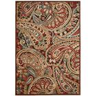 Francisca Red/Brown Area Rug Rug Size: Runner 2'3