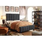 Mcmaster Queen Upholstered Panel Bed Color: Charcoal