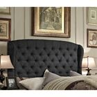 Maryport Upholstered Panel Bed Size: Full, Color: Charcoal