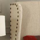 Progreso Upholstered Platform Bed Color: Beige, Size: King