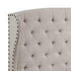 Nielsen Upholstered Panel Bed Color: Grey, Size: Queen