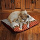 Hold the Leash Fleece Dog Bed