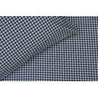 Catt 300 Thread Count Cotton Sateen Sheet Set Size: Full, Color: Black/White