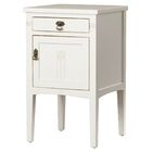 Corrie 1 Drawer Nightstand Color: White