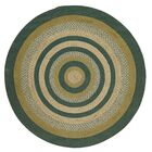 Armand Green Area Rug Rug Size: Round 6'
