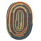 Chapelle Blue Area Rug Rug Size: Oval 12' x 15'