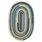 Chapelle Blue Area Rug Rug Size: Oval 5' x 8'