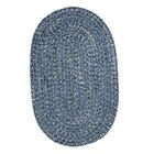 Annet Blue Area Rug Rug Size: Round 6'