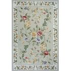 Andillac Hand-Hooked Sage Area Rug Rug Size: Rectangle 8' x 11'