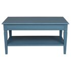 Cattleya Coffee Table Color: Antique Blue