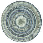 Holcombe Light Blue Area Rug Rug Size: Round 7'6