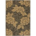 Laurel Black/Gray Indoor/Outdoor Area Rug Rug Size: Rectangle 6'7