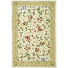 Kinchen Ivory Floral Area Rug Rug Size: Rectangle 5'3