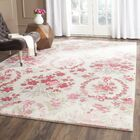 Arianna Ivory/Pink Area Rug Rug Size: Rectangle 3' X 5'