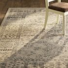 Harwick Beige and Blue Area Rug Rug Size: Rectangle 8' x 10'