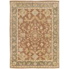 Talence Hand-Knotted Brown Area Rug Rug Size: 7'9