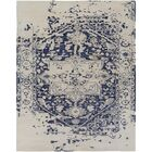 Pearl Hand-Tufted Blue/Beige Area Rug Rug Size: Rectangle 10' x 14'