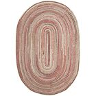 Arria Hand-Woven Natural Area Rug Rug Size: Oval 6' x 9'