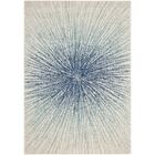 Hannan Royal/Ivory Area Rug Rug Size: Square 5'1