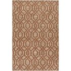 Cheyney Hand Woven Brown/Beige Area Rug Rug Size: Rectangle 8' x 11'
