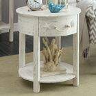 Dudek End Table With Storage