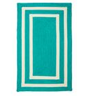 Marti Hand-Woven Outdoor Blue Area Rug Rug Size: Rectangle 5' x 8'