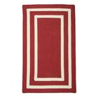 Marti Hand-Woven Outdoor Red Area Rug Rug Size: Rectangle 12' x 15'