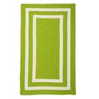 Marti Hand-Woven Outdoor Green Area Rug Rug Size: Rectangle 7' x 9'