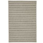 Tidewater Striped Hand-Woven Natural Area Rug Rug Size: Runner 2' x 9'