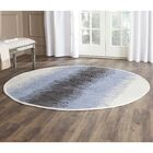 Ona Hand-Woven Cotton Area Rug Rug Size: Round 6'