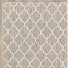Central Volusia Gray Area Rug Rug Size: Round 8'
