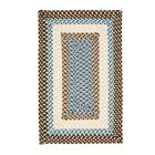 Marathovounos Border Bright Brown Kids Indoor/Outdoor Area Rug Rug Size: Rectangle 10' x 13'